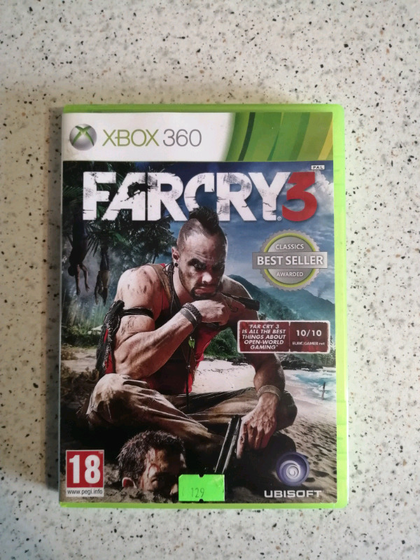 Farcry 3 Xbox 360/One