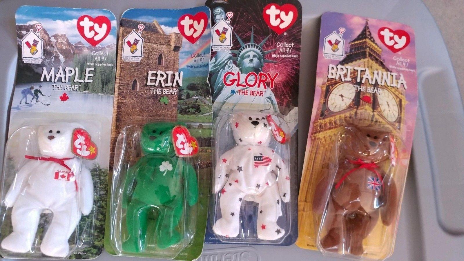 BeanTY toys hobbies   beanbag plush   TY   Beanie Babies originals   retired