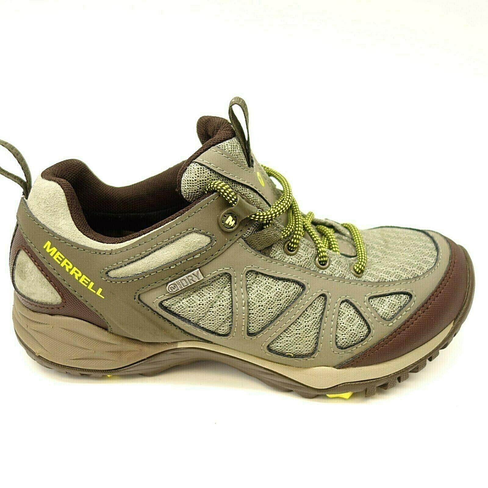 Merrell Damen Siren Sport Q2 Netz Vibram Athletic Trail Wanderschuhe Größe 7