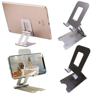 Adjustable Phone Tablet Desktop Stand Desk Holder Mount Cradle For iPhone 12 LG