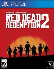 Red Dead Redemption 2 Pre-Order Rockstar Brand New Ps4 Playstation 4 2017 PS 17