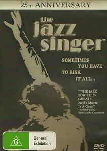 The-Jazz-Singer-25th-Anniversary-Edition-Laurence-New-Worldwide-All-Region-DVD