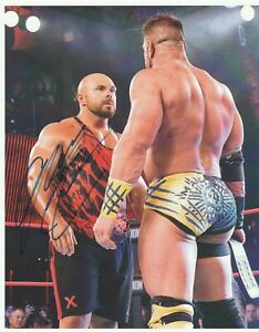 Michael-Elgin-Autograph-Impact-Wrestling-8x10-Photo