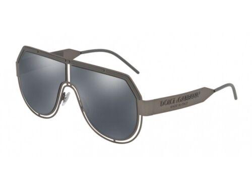Occhiali da Sole Dolce /& Gabbana Autentici DG2231 12866G canna di fucile grigio