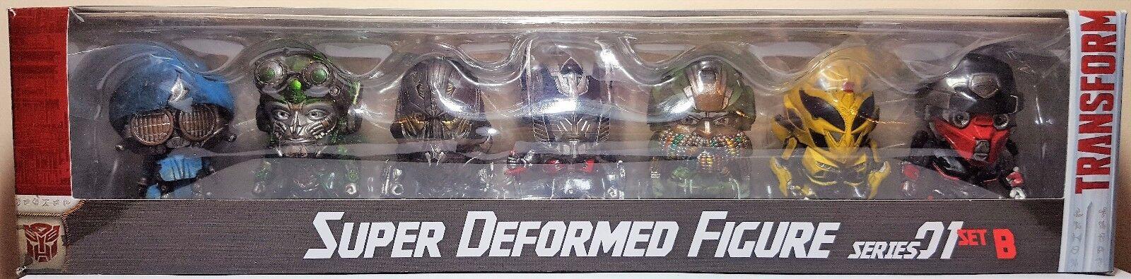 Compra calidad 100% autentica Transformers Transformers Transformers súper Deforme 7 figura serie 01 Set B herocross  entrega rápida