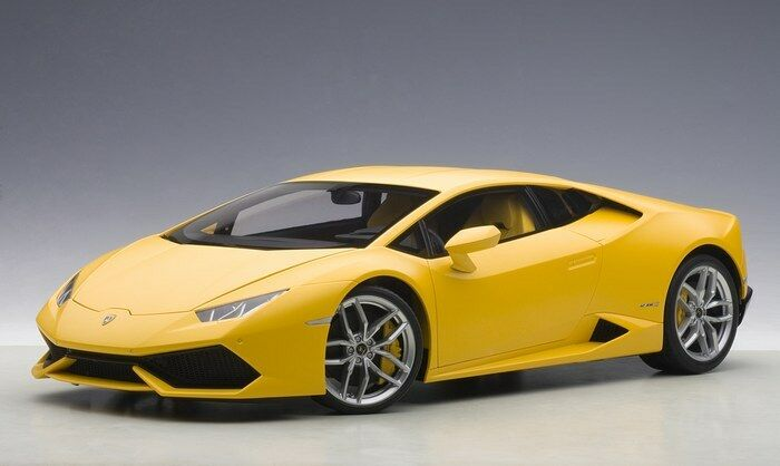 AUTOART 12097 - 1 12 Composite Lamborghini Huracán lp610-4 (jaune Horus MAT YE