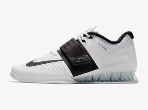 Nike Romaleos 3 Weightlifting shoes Men's White Black (852933-101)