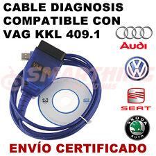 CABLE DE DIAGNOSIS VAGCOM KKL 409.1, OBD2, OBDII