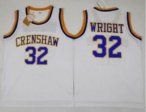 Image is loading Stitched-Monica-Wright-32-Crenshaw-High-School-McCall- 79e60e94e