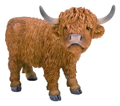 Vivid Arts Pet Pals Highland Cattle Home or Garden Decoration PP-HLCA-F