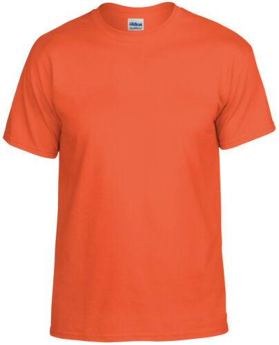 Gildan DryBlend Men/'s Crew Neck T-Shirt 8000-Short Sleeve Seamless Casual Tee