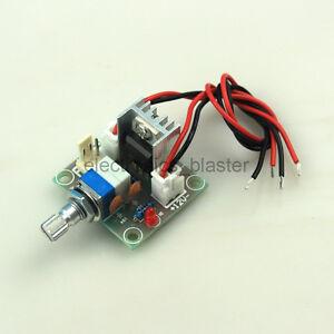 Lm317 linear converter voltage regulator module fan speed for Lm317 motor speed control