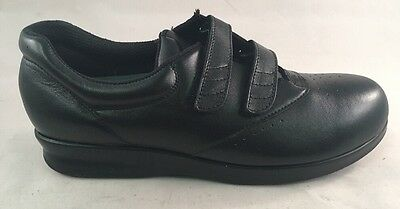 Drew Active Black Calfskin Diabetic Women/'s Walking Shoes 10910-12