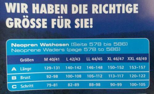 Behr Neopren Wathose 4mm Trendex Comfort plus Gr 46  8619546