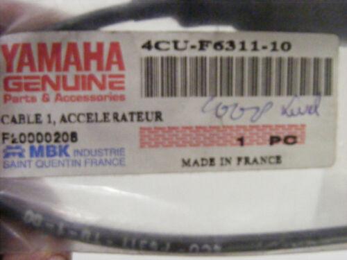 partie 1 YAMAHA  YE 50 ZEST 1994-95  pièce origine cable de gaz