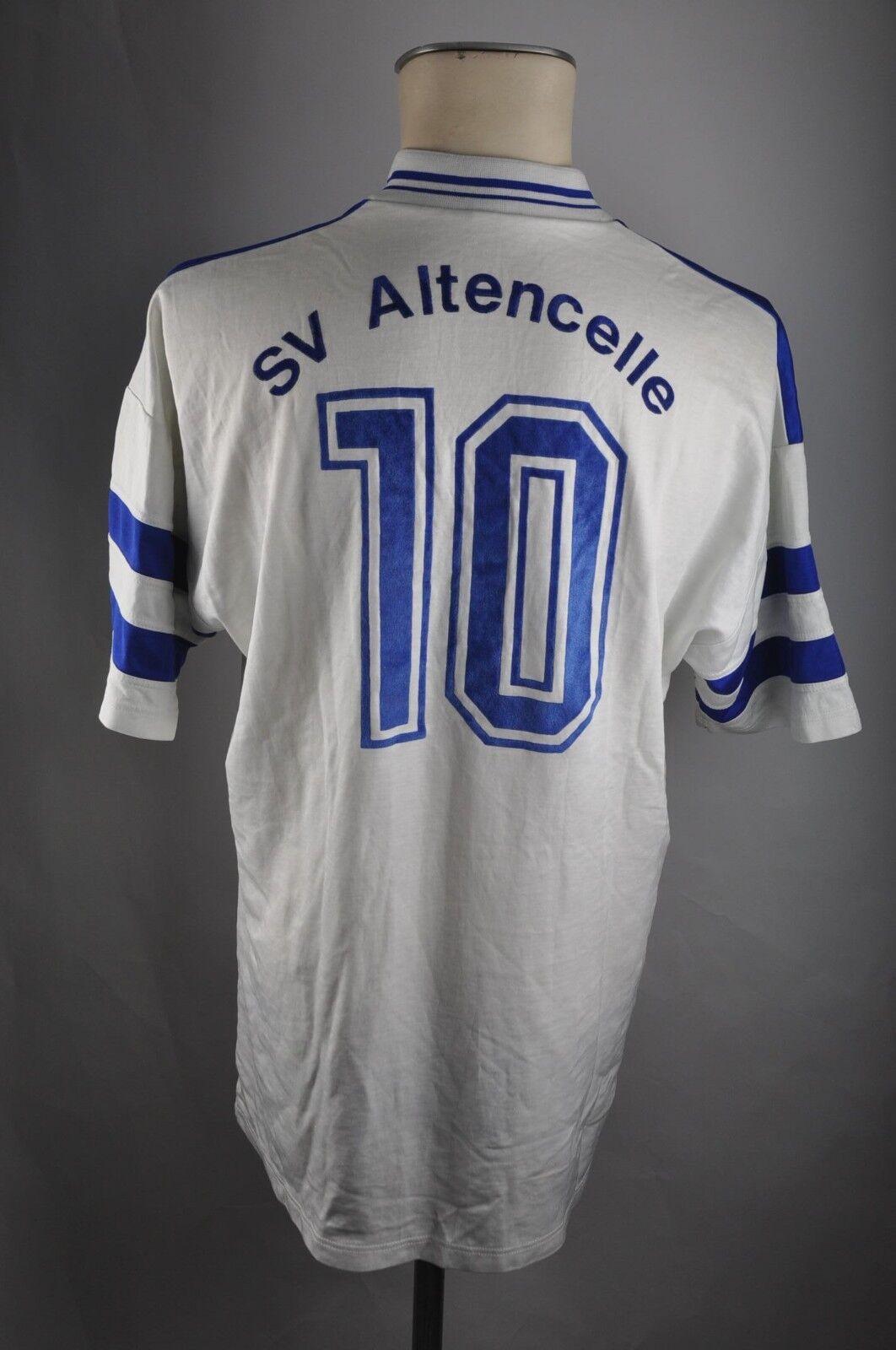 Erima vintage Trikot Altencelle SV Altencelle Trikot  10 90er Shirt Gr. XL weiß 90s jersey VG1 449850