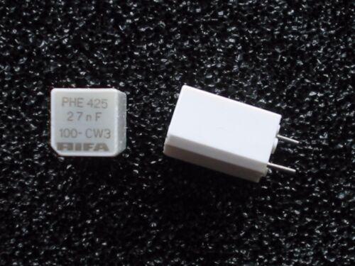 5 x 27nF RIFA PHE425 Kondensatoren