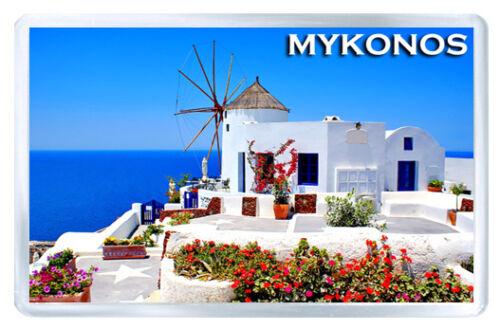 Mykonos MOD4 Fridge Magnet Souvenir Fridge Magnet
