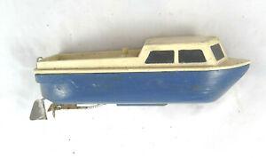 Vintage-Boat-Ship-Boat-Electric-Model-1940-Wood-Vintage-Game