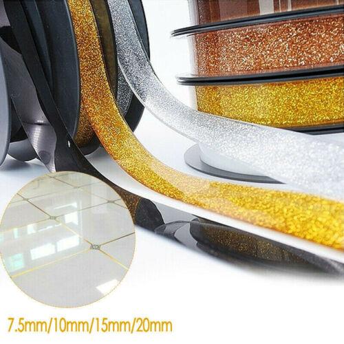 Ceramic Tile Mildewproof Gap Tape Self-adhesive Waterproof Seam Sticker Home
