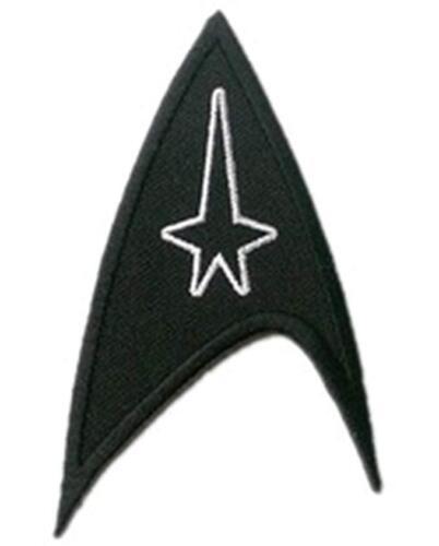Star Trek Insignia logo communicator spock kirk picard TOS Embroidered Iron On