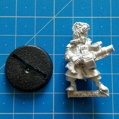 Warhammer 40k Imperial Guard Astra Militarum Vostroyan Grenade Launcher Metal
