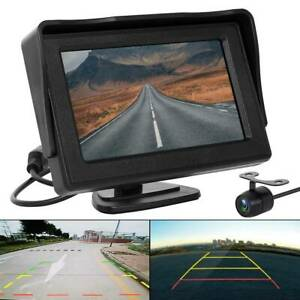 Kit-vue-arriere-voiture-4-3-034-TFT-LCD-Monitor-170-HD-Reverse-Camera-Day-BR