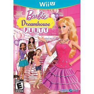 Details About Barbie Dreamhouse Party Nintendo Wii U 2013