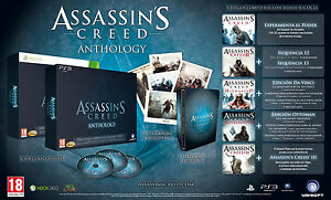 Assassins-Creed-Anthology-1-2-3-Brotherhood-Revelations-New-Spanish-Xbox-360