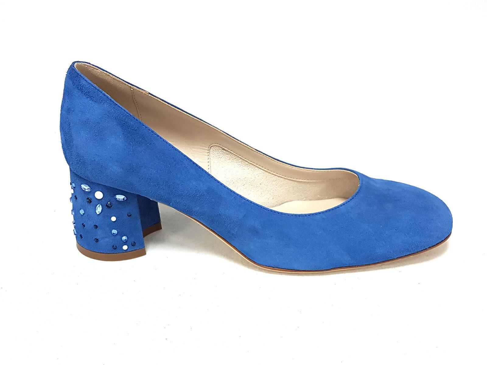 Melluso blu decoltè donna d122s deep blu Melluso n°38 54b771