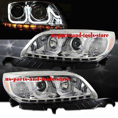 Chevrolet Malibu Projector Scheinwerfer LED U- Lightbar chrom 13 - 14 2013 2014