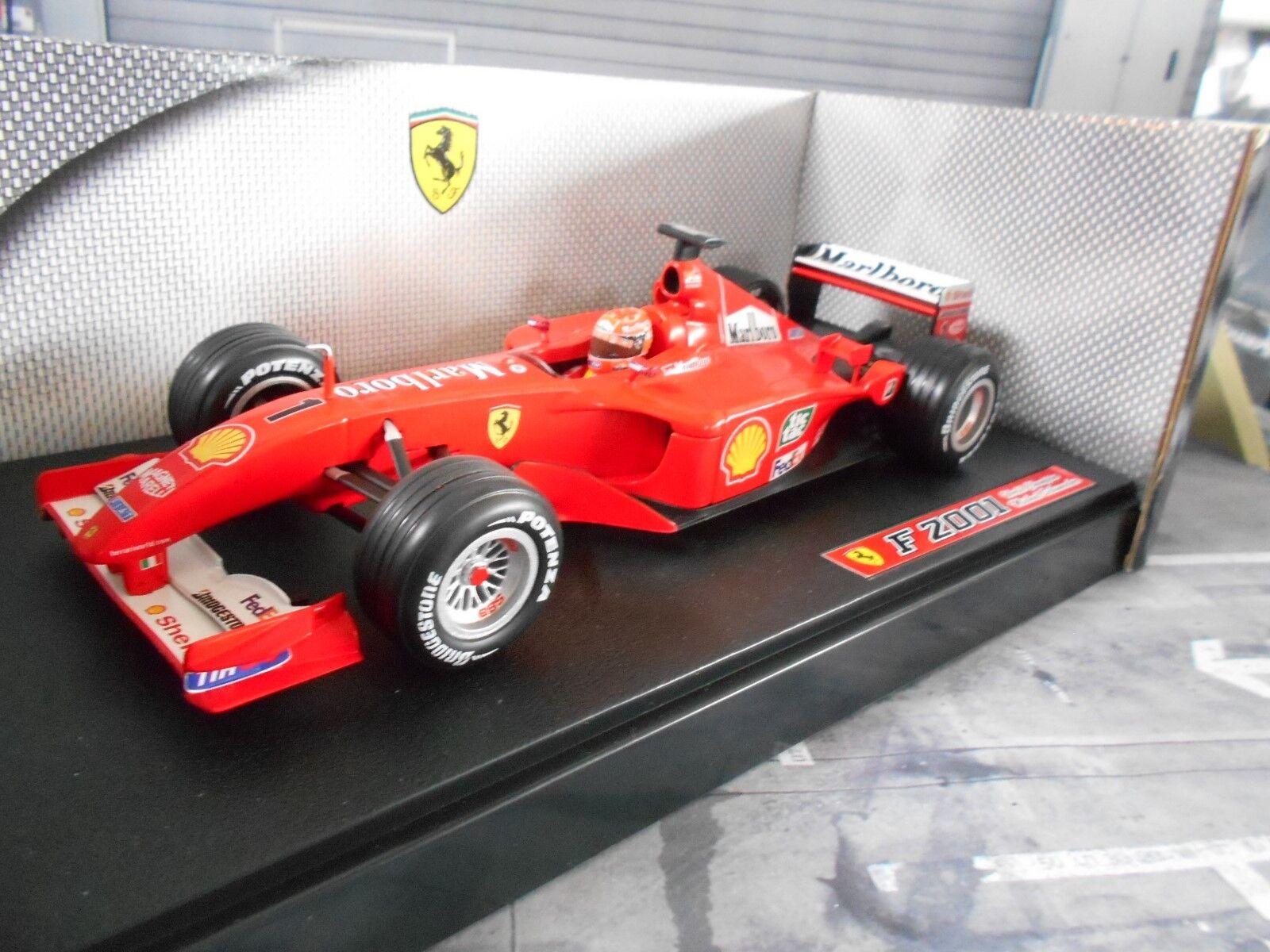 F1 FERRARI F2001  1 Michael Schumacher Saison 2001 Tabak Hot Wheels UMBAU 1 18    Moderne und elegante Mode
