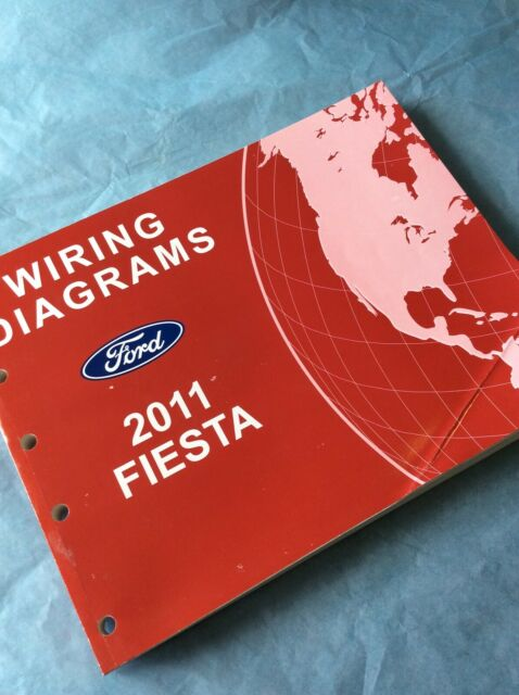 2011 Ford Fiesta Electrical Wiring Diagram Manual Book
