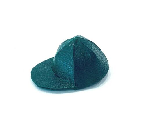 1//12 scale green baseball cap for Mezco One:12 Marvel Legends heads PB-BSC-GN
