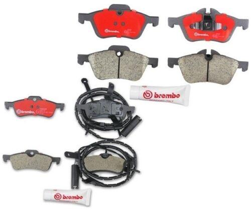 Mini Cooper R53 R54 2002-2004 L4 1.6L Complete Disc Brake Pads Kit Brembo fits
