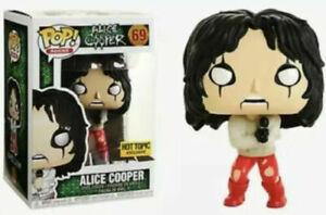 Alice Cooper in Strait Jacket Exclusive Pop Vinyl Figure Pop Rocks Straight