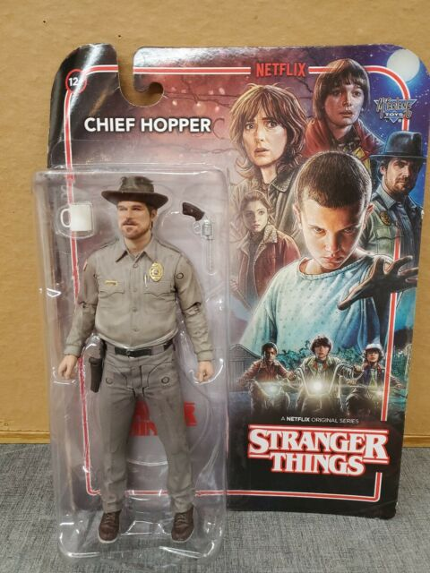 McFarlane Toys Netflix Stranger Things ~ CHIEF HOPPER ACTION FIGURE