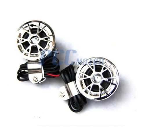 2pcs 12V Car Motorcycle Speakers Only Radio MP3 iPod Audio New I TK11S
