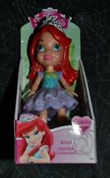 Disney Princess Mini Toddler Ariel Sparkle Collection Poseable 3 Inch Doll