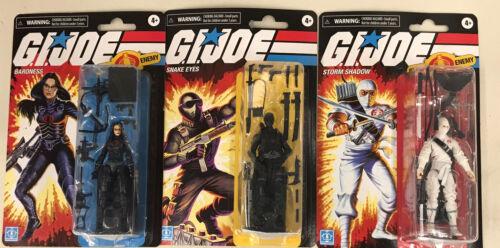 Snake Eyes et la baronne GI Joe Retro Collection Storm Shadow