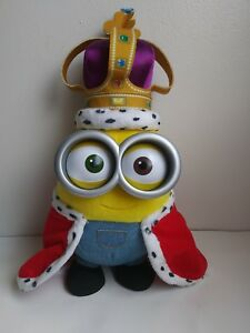 Thinkway Toys Minions Movie Electronic 15 Plush Talking King Bob