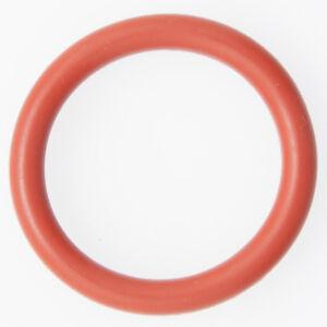 Dichtring Menge 10 Stück O-Ring 4 x 2 mm Silikon MVQ 70 rot