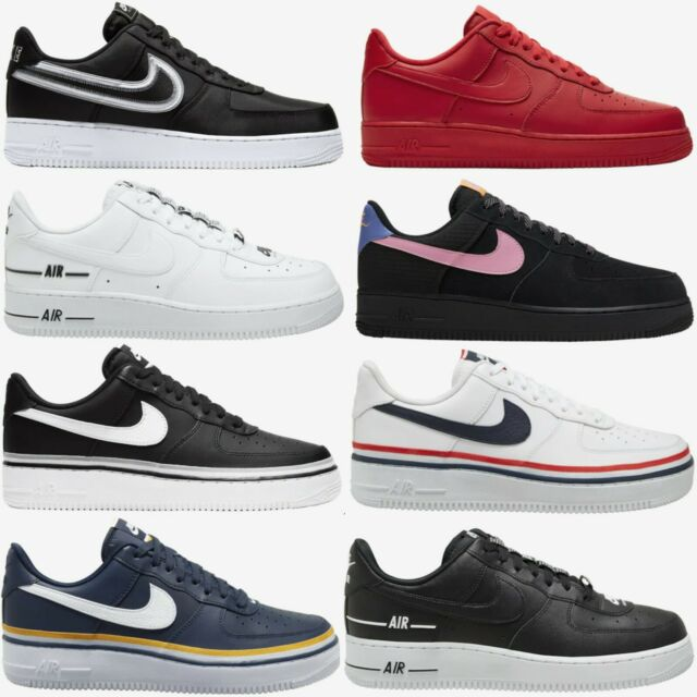 Nike Air Force 1 LV8 New Mens Sneakers Shoes Black White Blue Red Sizes 8-13