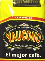 Cafe Yaucono Puerto Rican Ground Coffee 1 Package 14oz