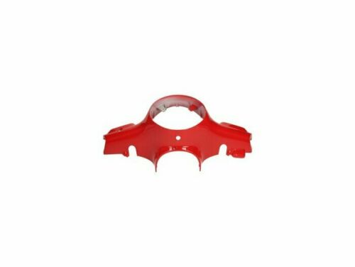 VESPA LX 150 4T 2006-ON Front Headlight Handlebar Cover Red 894 Genuine