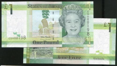 Jersey 1 Pound p-32 2018 UNC Banknote