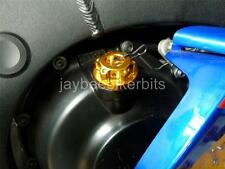 OIL FILLER CAP CNC GOLD YAMAHA MT01 XJ6 XJ600 XJR1200 XVS 1100 1300 XT600  R2B2