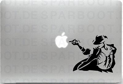 Apple MacBook Air Pro + MICHAEL JACKSON + Aufkleber Sticker Skin Decal