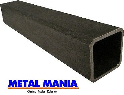Steel rect hollow section 75mm x 50mm x 3mm x 500 mm