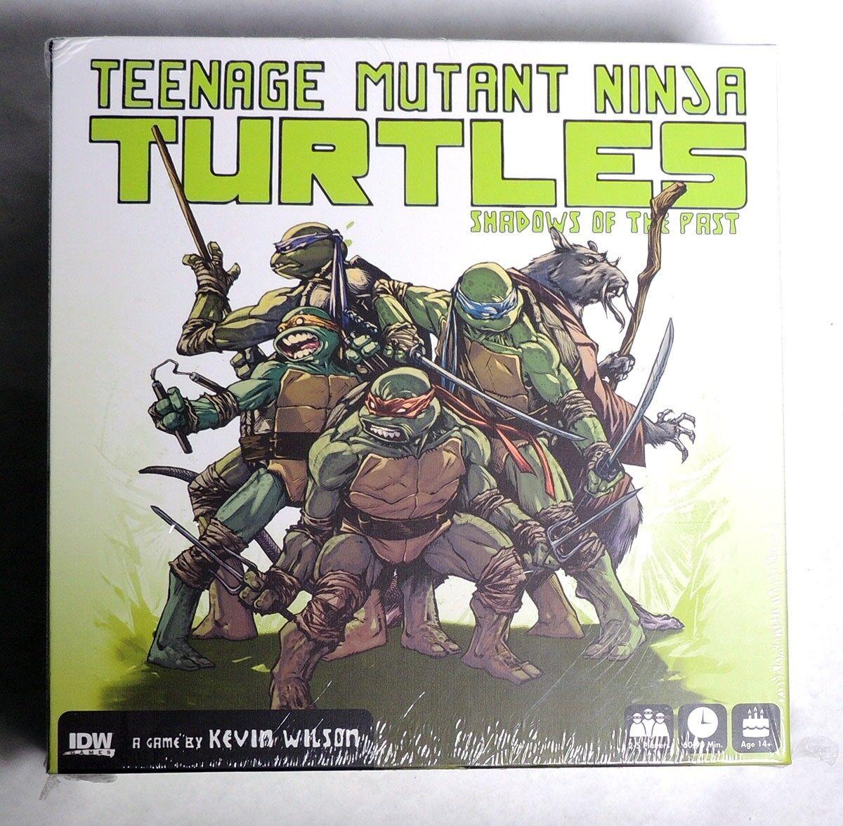 ESZ8883. Teenage Mutant Ninja Turtles SHADOW OF THE PAST Board Game Pandasaurus
